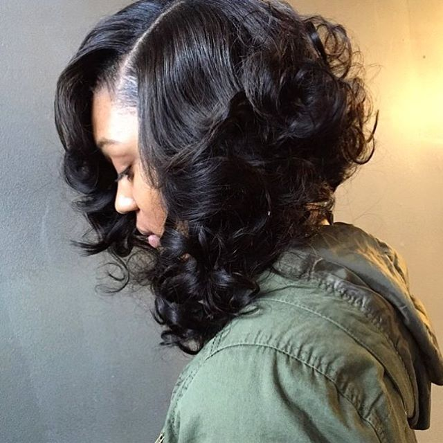2015 FAVORITE| Love this #curlybob styled by #BaltimoreStylist @korancavalli ❤️ Check out some of our other 2015 favorites at ➡️VoiceOfHair.com #voiceofhair