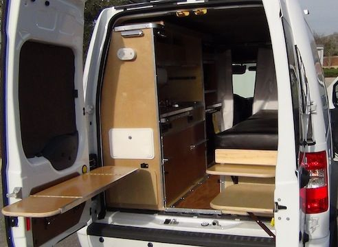 2010 Ford Transit Connect Xlt Wagon Ultimate_RV__Conversion_Transit_Connect