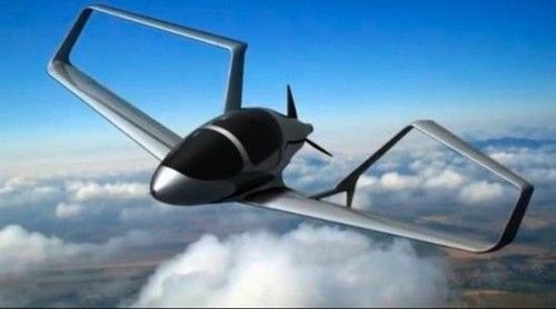 Synergy Aircraft, Green Flight Challenge, future vehicle, NASA, eco, John McGinnis, aerodynamic, electric, future aviation, futur airplane, Delta Hawk, bio-diesel fueled propeller engine | Futuristic NEWS
