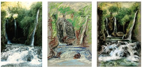 Awesome Professional Landscape Image Finish | www.drawing-made-easy.com | #drawing #finishing