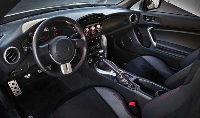 2016 Toyota Scion tC interior
