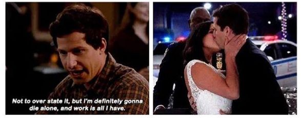 Pin By ୭ On Brooklyn Nine Nine Brooklyn Nine Nine Jake And Amy Amy Santiago