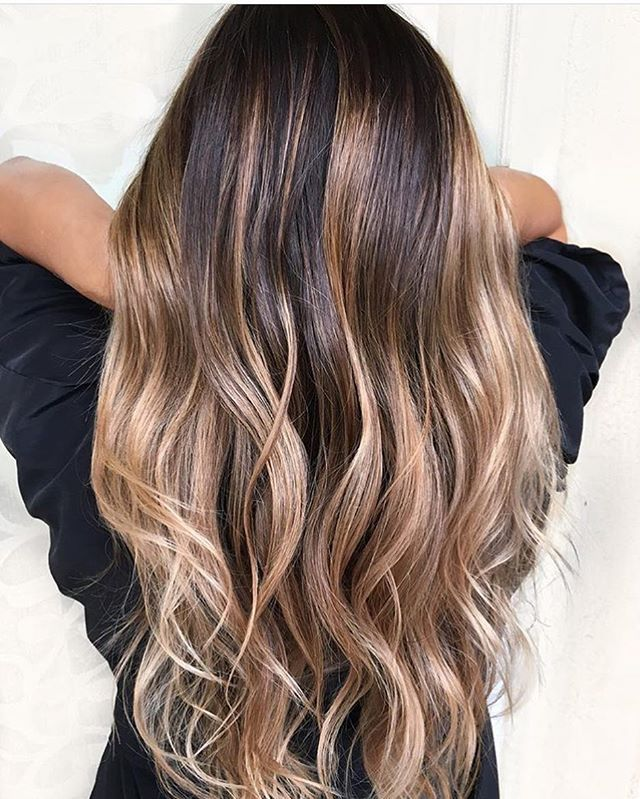 balayage goals simplicitysalon hair inspiration pinterest coloration des cheveux. Black Bedroom Furniture Sets. Home Design Ideas
