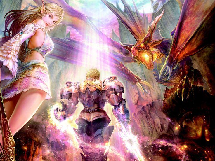 Dragon Knight – это фэнтезийная браузерная MMORPG, вышедшая в Китае еще в 2016 году и собравшая приличную армию ...