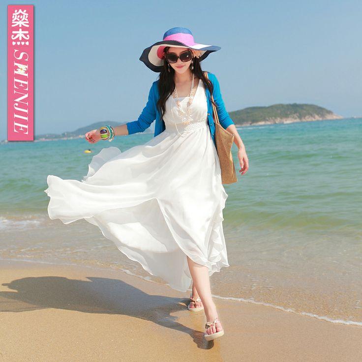 Sang Jie 2014 новый богемный пляж платье шифон комбинезон платье поставить на большой морской курорт в летний ребенок - eBoxTao, English TaoBao Agent, Purchase Agent. покупка агент