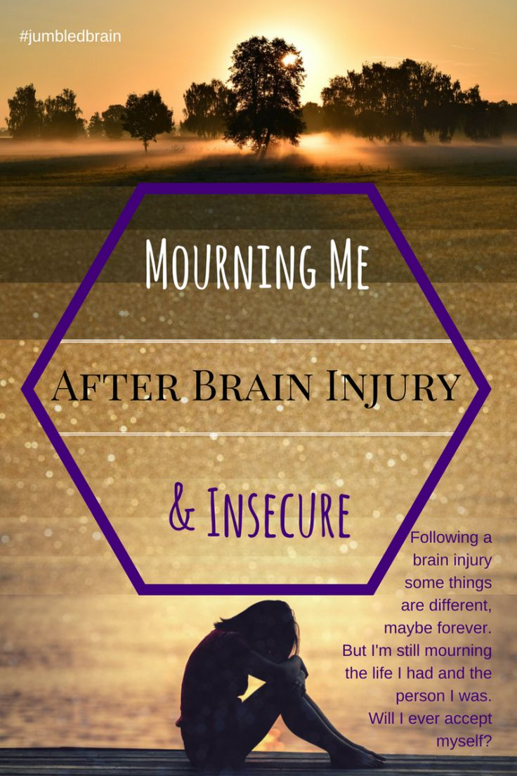 A brain injury changes your life, and I'm mourning the one I have lost.