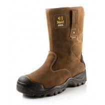 Buckler Buckshot2 BSH010BR Safety Rigger Boots Dark Brown