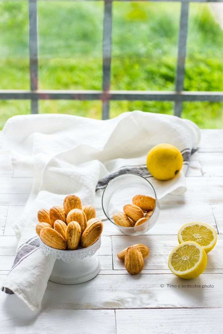 Mini madeleines al limone ricetta vegan veloce 1