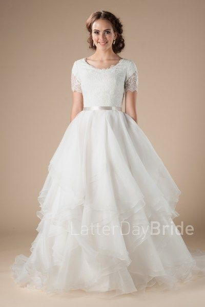 Utah Modest Wedding Dresses At Latter Day Bride The Cambridge With Lace