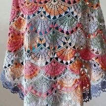 Shawl Crochet Patterns Part 15