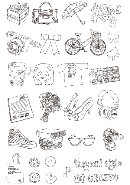 illust for my blog