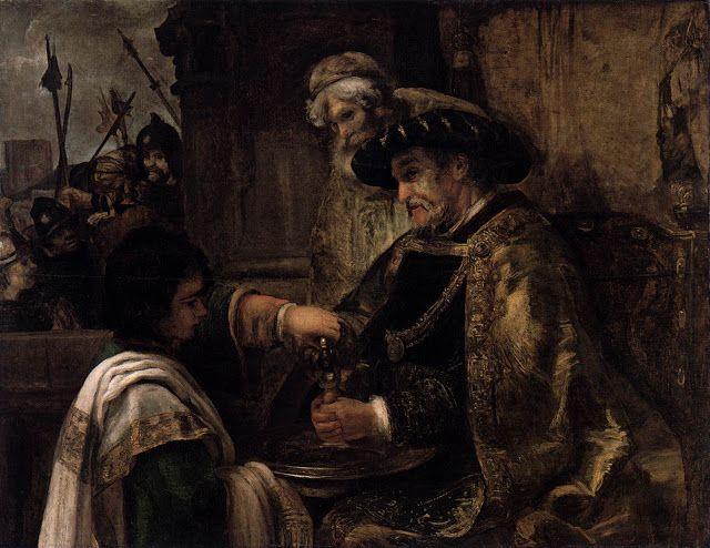 Ο Πιλάτος πλένει τα χέρια του (1660-62) *