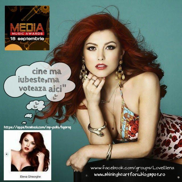 "Elena Gheorghe: Elena Gheorghe nominalizata la ""Fans Like Award"" MMA 2014!"