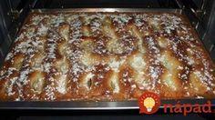 Koláč chutnejší ako torta: Krémový jablčník so smotanovou náplňou!......... http://tojenapad.dobrenoviny.sk/kolac-chutnejsi-torta-kremovy-jablcnik-so-smotanovou-naplnou/