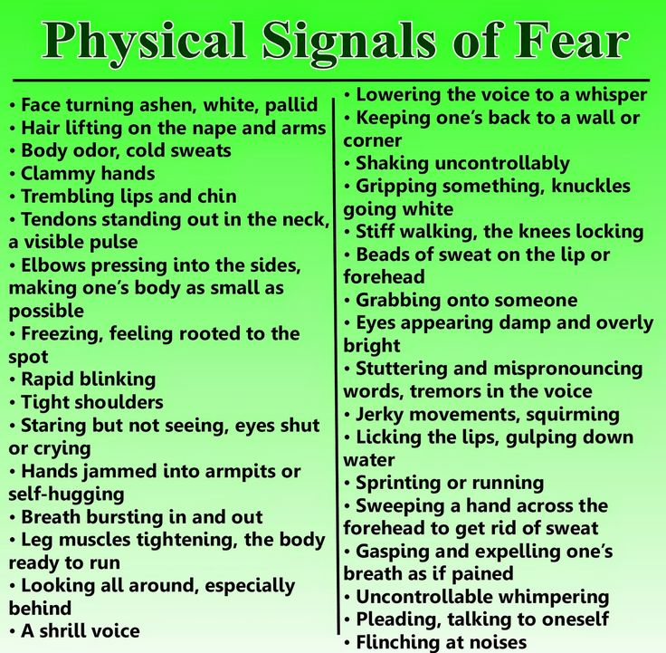 fear response in humans - Google Search