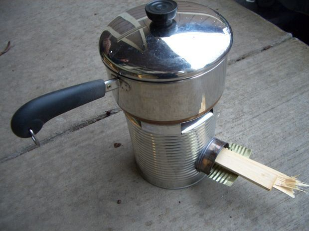 17 best images about 10 cans on pinterest stove for How to make a rocket stove