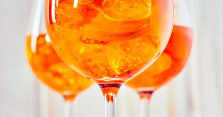 La recette du Spritz, le Cocktail Italien à l'orange amère ...