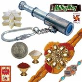 You can Send Handicraft Rakhi   to India for your Brother.