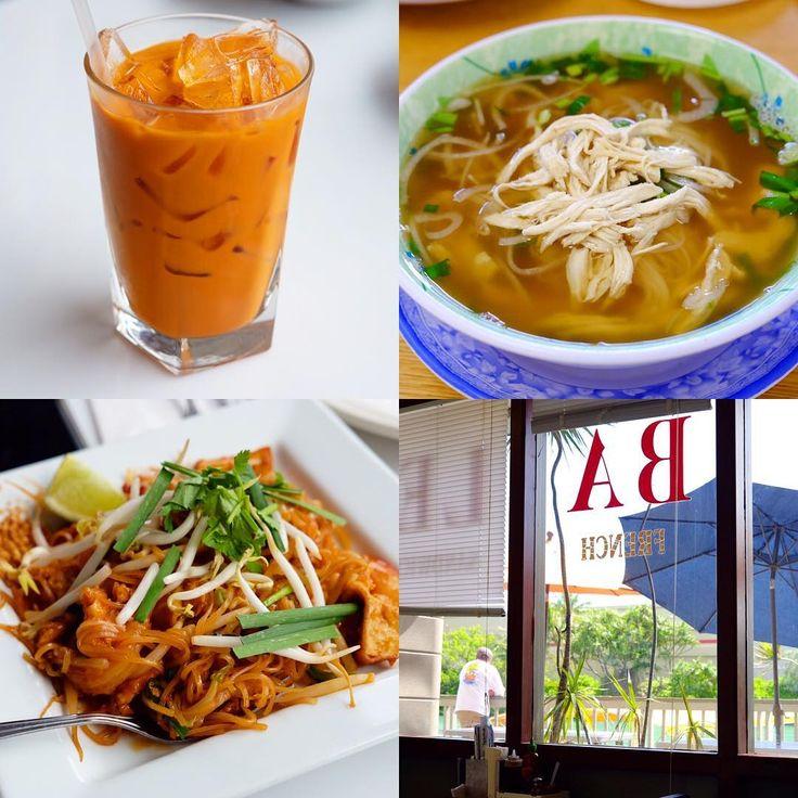 美味スポット③Chiang-Mai Thai Cuisine / BALE タイ料理屋さんとフォー屋さん�������� 主人行きつけのお店。観光客向けではないので行きにくいけど、車があればワイキキからすぐ��それにしても、海外で食べるアジア料理ってなんでこんなに美味しく感じるんやろうか��  #chiangmaithaicuisine #タイ料理 #���� #パッタイ #トムヤムクン #甘いミルクティ #美味しい  #bale #フォー #pho #ベトナム料理 #���� #量多め #良い出汁  #ローカルフード #localfood #ethnic #thaicuisine #vietnamesecuisine #ランチ #lunch  #oahu #hawaii #ハワイ #旅 #trip http://w3food.com/ipost/1501397100322323396/?code=BTWCLU_g3vE