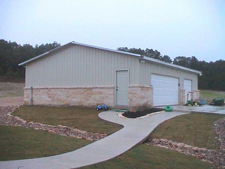 Steel Building Homes Texas Steel Garage Back To Metal