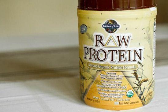 Raw Protein Powder. Dairy free, gluten free, & vegan.