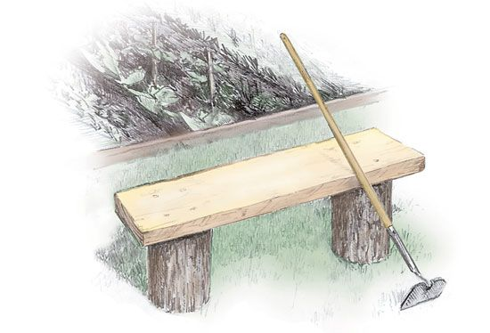 3 Easy-to-Build Outdoor Benches. Build one or more of these easy-to-build, attractive outdoor benches, from mail-order plans: a log and plank bench, the Leopold bench and the Jordan Pond bench and table. From MOTHER EARTH NEWS magazine.