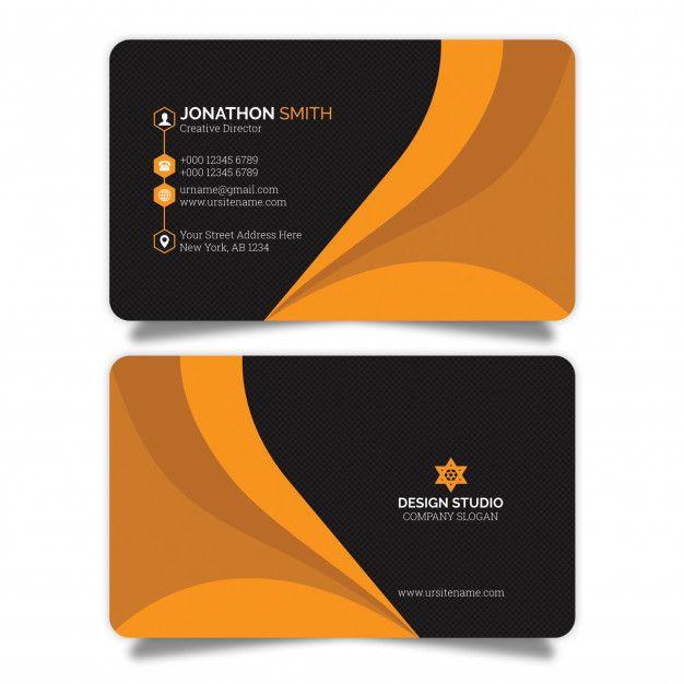 Creative Business Card Premium Psd Free Psd Freepik Psd Freebackground Freelogo Freebusin Business Cards Creative Visiting Card Design Creative Business