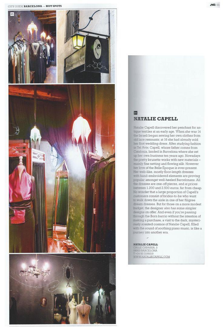 In german magazine J'N'C...  www.nataliecapell.com