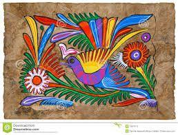 Resultado de imagen para pintura mexicana indigena