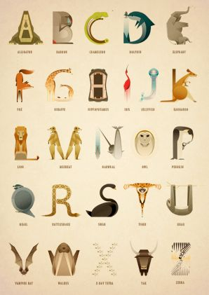 Signed Animal Alphabet - The complete set (With Titles)A2 Size -  420mm x 594mmGiclée print on 310gsm Hahnemühle German Etching PaperAll prints sold unframed. A