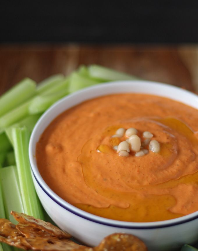 roasted red pepper and white bean hummus white bean hummus red pepper ...