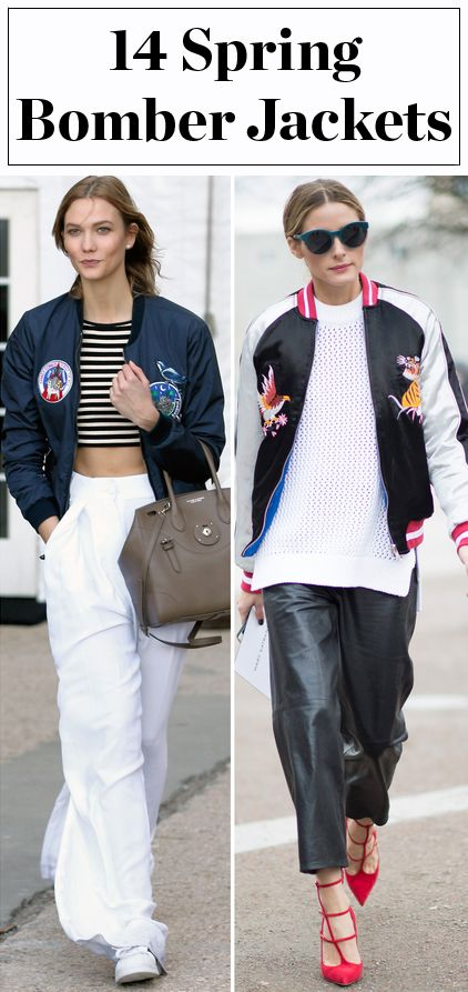 Spring bomber jackets to shop right now from Zara, H&M, Old Navy and more!