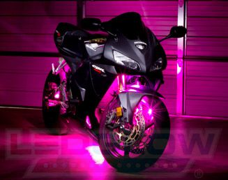 Motorcycle LED Lights, Motorcycle Underglow, and Motorcycle Light Kits