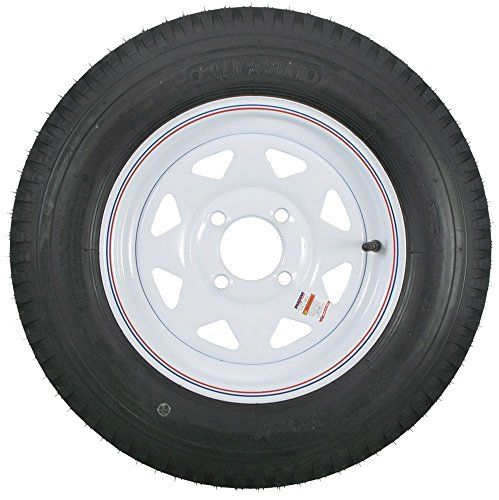 2-Pack eCustomrim 846 Mounted Trailer Tire & Rim 5.30-12 530-12 4H White Spoke C  #20inchtires https://www.safetygearhq.com/product/tyre-shop-tire-warehouse/2-pack-ecustomrim-846-mounted-trailer-tire-rim-5-30-12-530-12-4h-white-spoke-c/