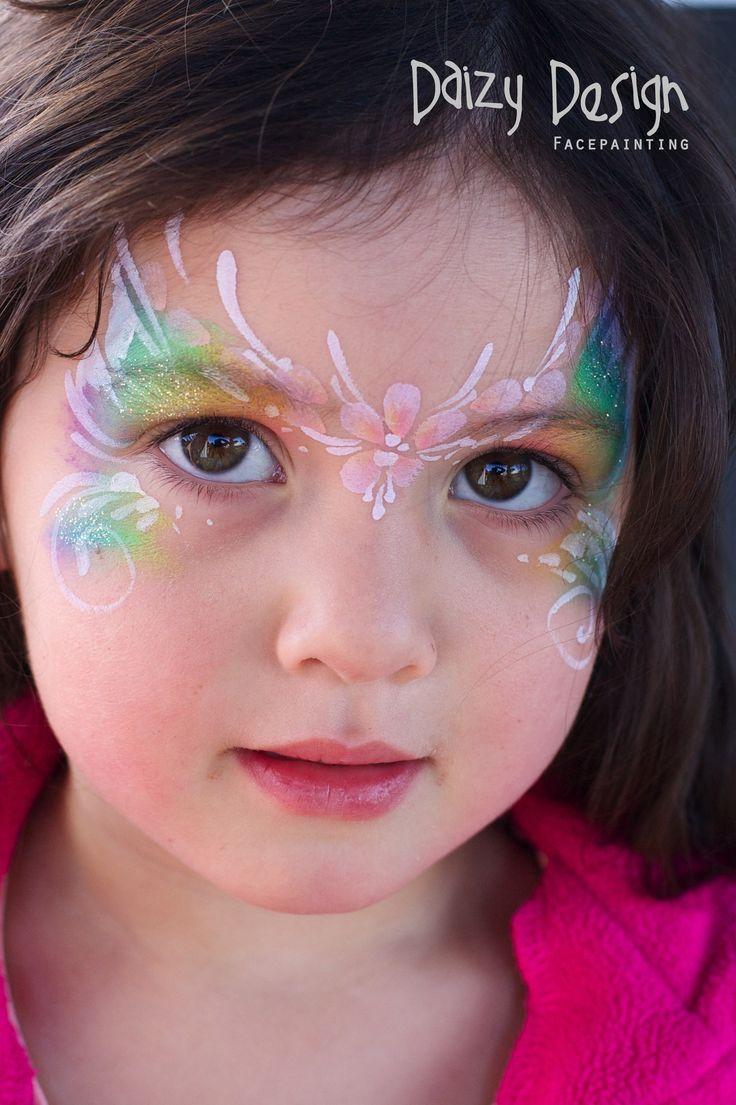 Mumus Flower Face Painting  Daizy Design  Face Paint Designs