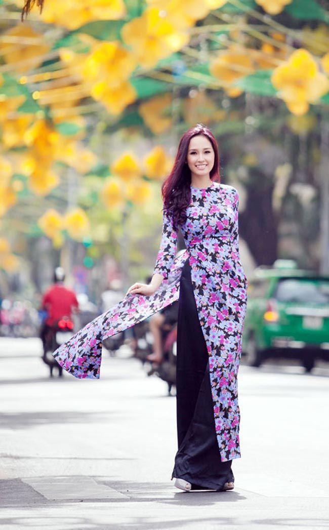 Thanh Ngọc dịu dàng trong tà áo dài cổ điển   Áo dài