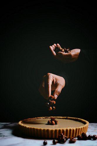 Coffee Hazelnut Tart | A Brown Table