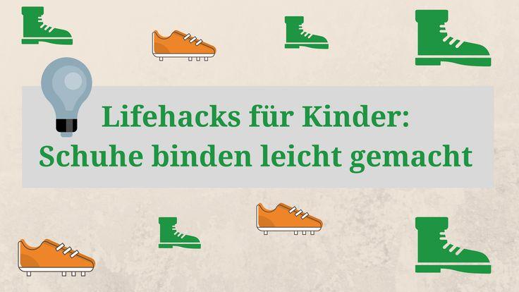 Wie habt ihr Schuhe binden gelernt? Wir haben drei Methoden für euch in einem Video zusammengestellt. Viel Spaß beim Nachmachen!