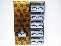 Comercio al por mayor de las pestañas falsas de espesor final de ojo alargado maquillaje ojo eléctrico discoteca esencial crush 10 pares de vestido Q205