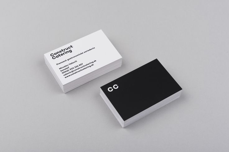 Construct Catering identity