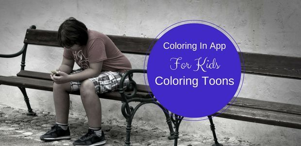 This funky new coloring in app is being released next week and it is sure to be a hit with your kids!   #ColoringApp #KidsApps #iphoneapp #NewRelease