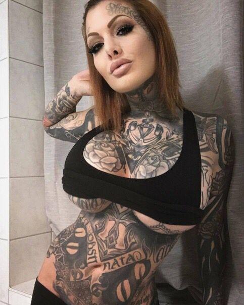 Tattooed Girls With Big Tits