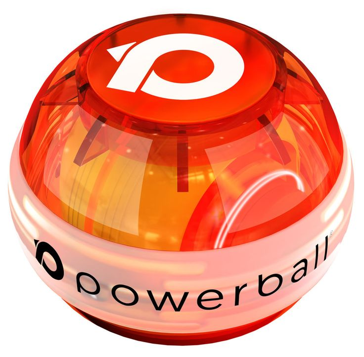 NSD Powerball 280Hz Indestructiball Blaze - Red - PB688L Power Ball Gyro Pro