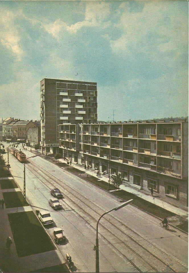 György István Tamás képeslapja Miskolc a Múltban