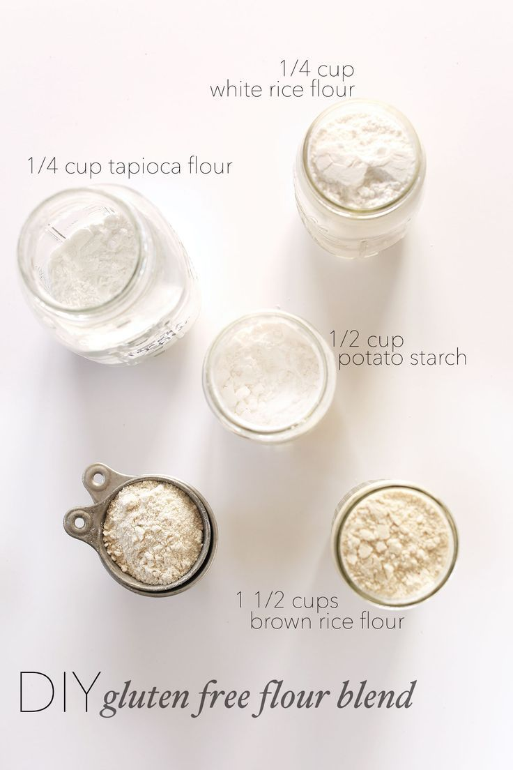 My go-to, 4-ingredient gluten free flour blend for baking. Gum free and so simple and affordable.