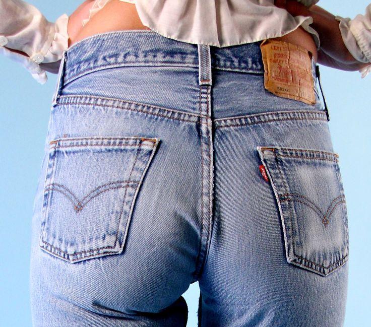 Women in 501 jeans
