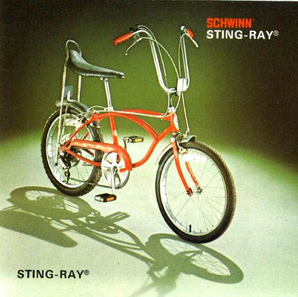1977 schwinn stingray Used to have one with streamers!!!