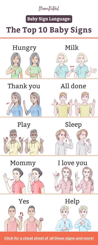 Baby-Gebärdensprache: Wie kommunizieren Sie, bevor das Baby zu sprechen beginnt? … – babys