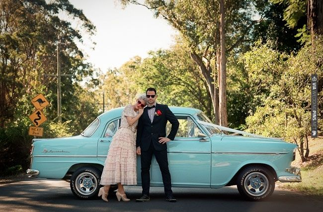 love this chic + kitsch vintage wedding   CHECK OUT MORE IDEAS AT WEDDINGPINS.NET   #weddings #weddinginspiration #inspirational