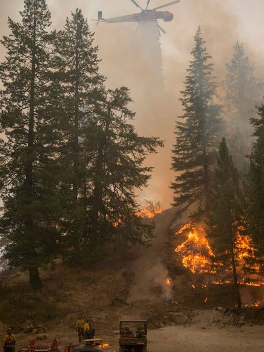 Washington state wildfires 2015